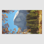 Half Dome in Autumn - Yosemite National Park Rectangle Stickers