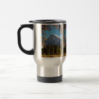 Half Dome in Autumn - Yosemite National Park Travel Mug