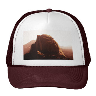 Half Dome in Red Hats