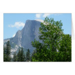 Half Dome in Summer from Yosemite National Park Card