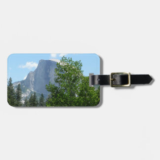 Half Dome in Summer from Yosemite National Park Tags For Luggage