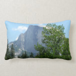 Half Dome in Summer from Yosemite National Park Lumbar Pillow