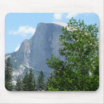 Half Dome in Summer from Yosemite National Park Mouse Pad