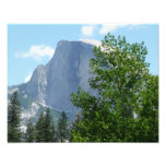 Half Dome in Summer from Yosemite National Park Photo Print