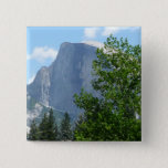 Half Dome in Summer from Yosemite National Park Pinback Button