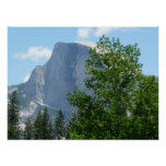 Half Dome in Summer from Yosemite National Park Poster