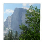 Half Dome in Summer from Yosemite National Park Tile