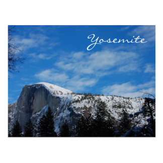 Half Dome in Winter Postcard