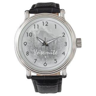 Half Dome in Winter Wrist Watch