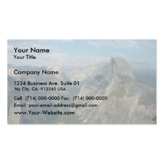 Half Dome In Yosemite National Park (As Viewed Fro Double-Sided Standard Business Cards (Pack Of 100)