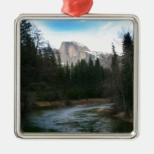 Half Dome in Yosemite National Park, California Christmas Tree Ornaments