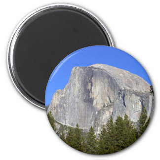 Half Dome In Yosemite National Park Great Mountain 2 Inch Round Magnet