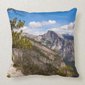 Half Dome landscape, California Pillow