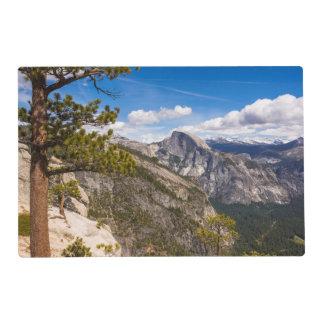Half Dome landscape, California Placemat