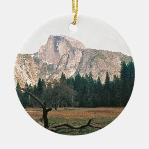 Half Dome Christmas Ornaments