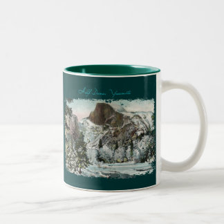 Half Dome Painted Coffee Mug
