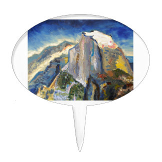 Half Dome Painting Cake Topper