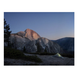 Half Dome Sunset from Snow Creek - Yosemite Postcard