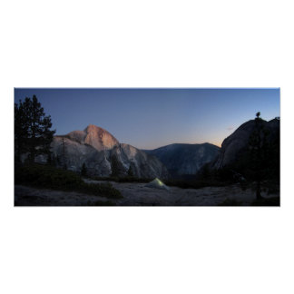 Half Dome Sunset from Snow Creek - Yosemite Poster