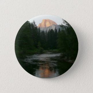 Half Dome Sunset in Yosemite National Park Button