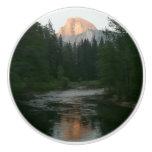 Half Dome Sunset in Yosemite National Park Ceramic Knob