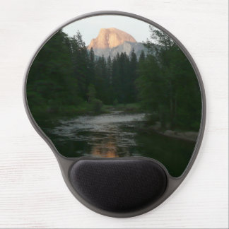 Half Dome Sunset in Yosemite National Park Gel Mouse Pad