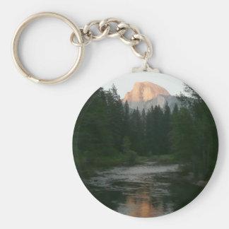 Half Dome Sunset in Yosemite National Park Keychain