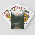 Half Dome Sunset in Yosemite National Park Playing Cards