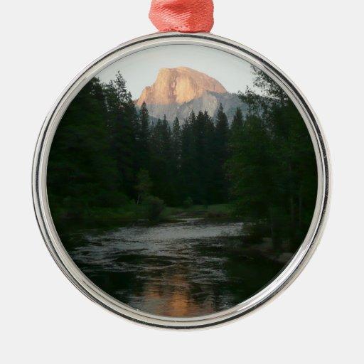 Half Dome Sunset Ornament