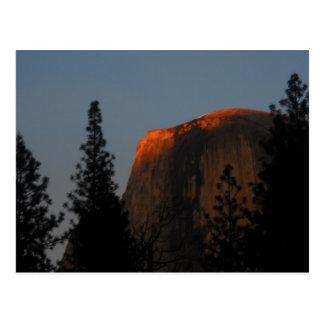 Half Dome Sunset Postcard