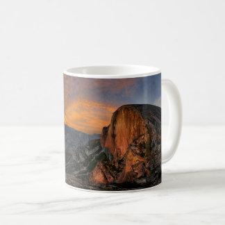 Half Dome Sunset - Yosemite Coffee Mug