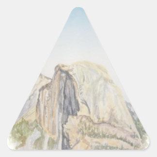 """""""Half Dome"""" Triangle Sticker"""