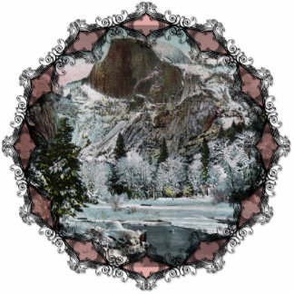 Half Dome Vintage Ornament