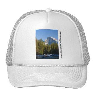 Half Dome winter Yosemite California Products Hat