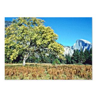 Half-dome - Yosemite National Park Invitation