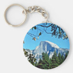 Half-dome - Yosemite National Park Key Chains