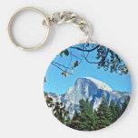 Half-dome - Yosemite National Park Key Chains