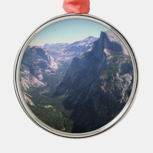 Half Dome, Yosemite Christmas Ornaments