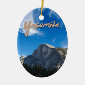 Half Dome Yosemite Ornament