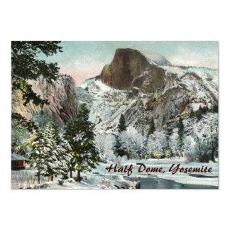 Half Dome, Yosemite Party Invitation