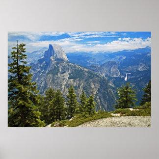 Half-Dome, Yosemite Poster