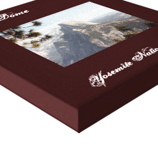 Half Dome Yosemite Stretched CanvasCanvas Canvas Print