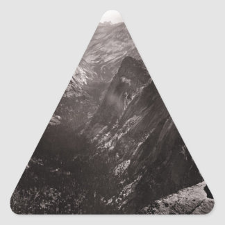 Half Dome, Yosemite Valley, California Triangle Sticker