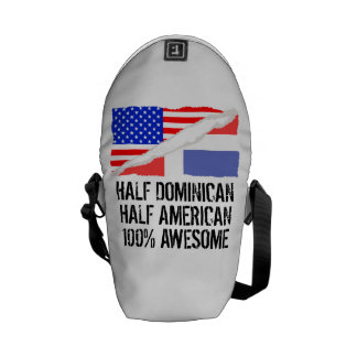 Half Dominican Half American Awesome Courier Bag