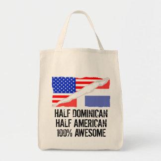 Half Dominican Half American Awesome Tote Bag
