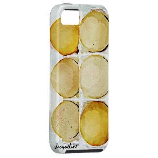 Half Dozen Brown Eggs iPhone SE/5/5s Case