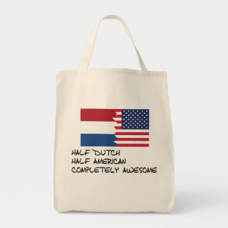 Half Dutch Completely Awesome Tote Bag