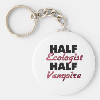 Half Ecologist Half Vampire Key Chains