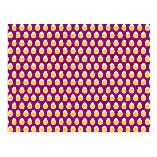 Half Egg Pattern Postcard
