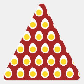 Half Egg Pattern Triangle Sticker